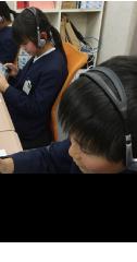 耳から覚える学習を実践EEの中学英語準備講座という形で導入している